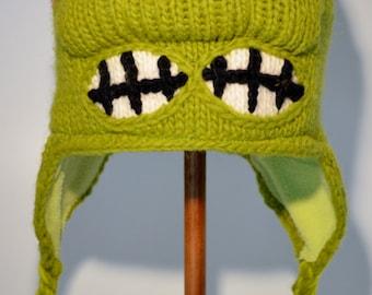 Raphael (Teenage Mutant Ninja Turtles) - handgemachte Woolen Strick Hut für Kinder