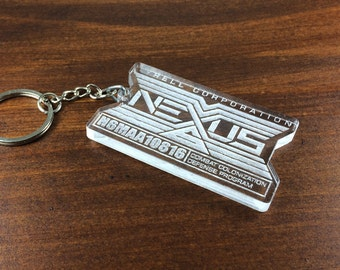 NEXUS 6 from the movie Blade Runner key chain
