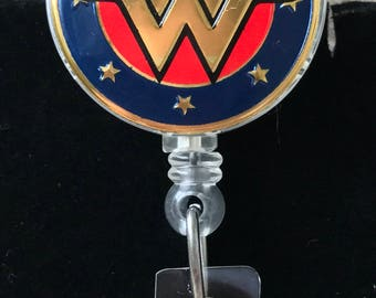 Wonder Woman Badge Reel