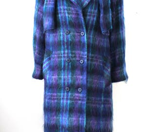 Vintage Royal Scot Mohair Coat with Matching Scarf