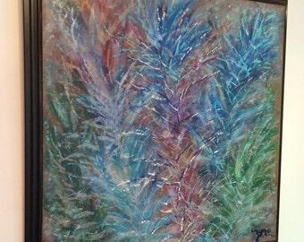 Original acrylic abstract painting, Art, Wall Art, contemporary art, modern wall art.