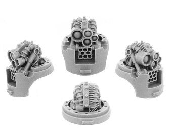 MECHANIC ADEPT Kastelan Robots Alternative HEADS (2U)