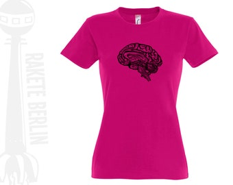 Woman T-Shirt  'anatomical brain'