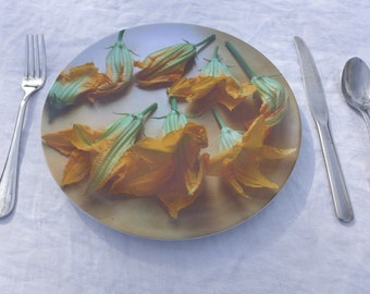 Squash Blossoms Plate
