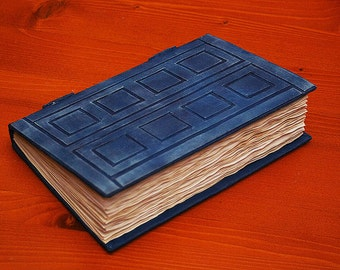 SALES! Dr Who Tardis / River Song Journal Book -100 BLANK pages (200 back and forth)