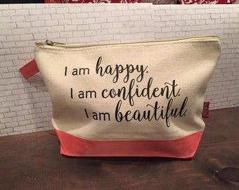 Canvas Make Up bags