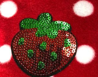 Sweet Strawberry scarf