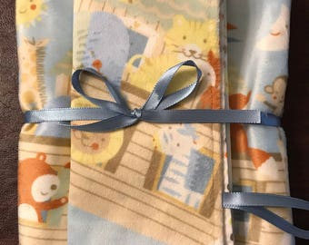 Baby blanket and security blanket set