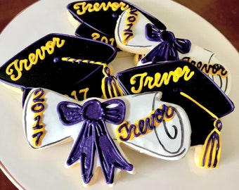 LOCAL Graduation Cookies - 1 Dozen