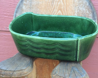 Vintage Green Planter Pots