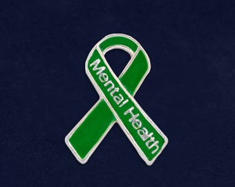 Mental Health Awareness Pin (1 Pin - Retail) (RE-P-29-13MH)