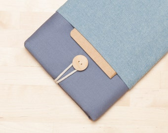 ipad mini 4 case / ipad mini sleeve / ipad mini cover  - Dark grey indigo -