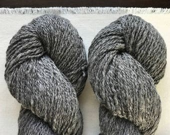 Solstice's Yarn; CVM/ Rambouillet, worsted weight, 2-ply, naturally colored