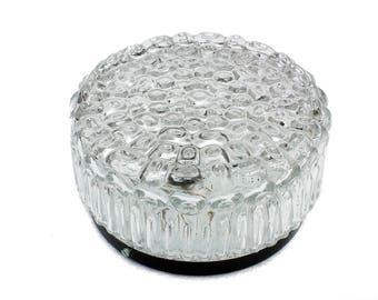 Crystal glass Flushmount