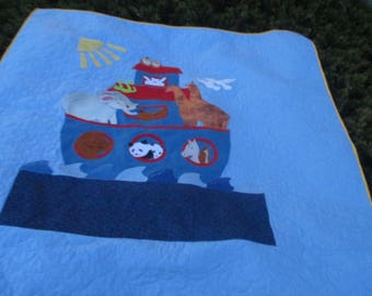 Made to order Noah's Ark Quilt or Wall Hanging