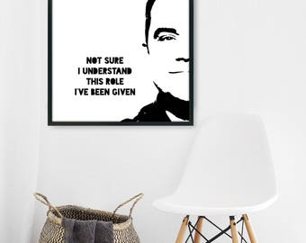 Robbie Williams inspired lyrics Feel Song Wall Art Anniversary Birthday Gift, Printable Poster, Music lyric art, Music lover gift, Music art