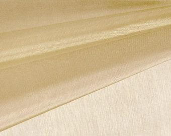 Stone Organza Fabric by the Yard, Wedding Decoration Organza Fabric, Sheer Fabric - Style 1901