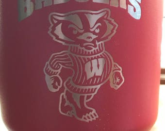 Wisconsin Badgers 30oz Polar Tumbler