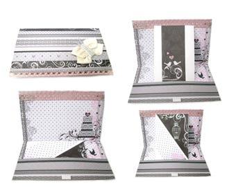 Wedding cash gift, wedding card money holder, envelope card wedding, envelope