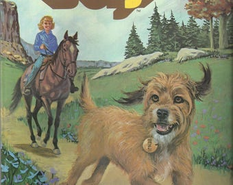 Vintage Benji Whitman Coloring Book, 1982 (2 pages used)