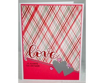 Handmade Valentines Set of 3