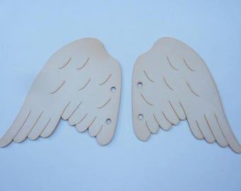 """The brand """"Embelliscrap"""" cardboard Angel Wings wood"""