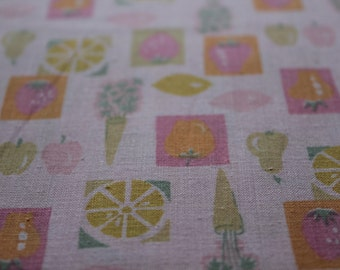 Vintage Cotton Quilt  Dress Fabric sold by the Yard