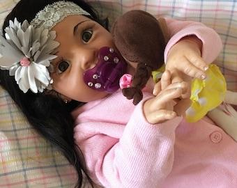 Stunning CUSTOM Reborn Doll Rowan Biracial Ethnic Baby Girl/Boy
