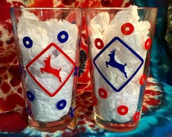 Phish Run Pint Glasses