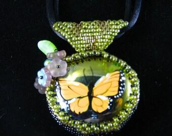 Butterfly in Glass