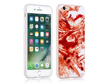 iphone 6 plus case ultra slim soft case back cover for apple iphone 5 se iphone 6 plus iphone 7 plus blood