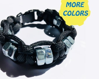 Bracelet for anxiety - hex nut fidget, sensory, Aspergers, autism, ADHD, hyperactivity