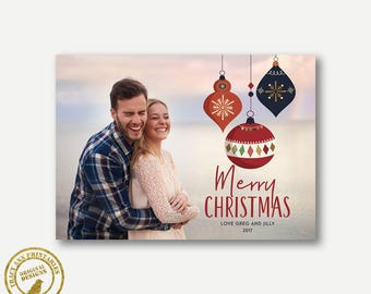 Christmas Card, Photo Christmas Card, Holiday Photo Card, Printable Christmas Card, Family Christmas 7008