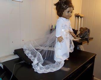 """18"""" doll Wedding dress"""