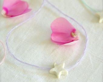 Parma. daydreaming star - Creation © porcelain bracelet