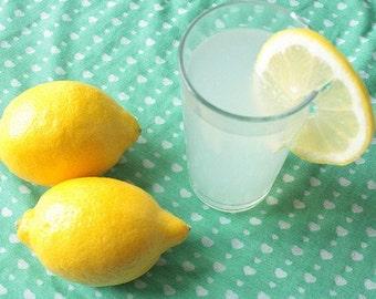 When life gives you lemons...make lemonade  5x7 inches photographic print
