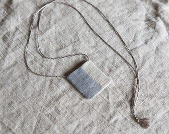 the freya amulet pouch | amulet bag | secret keeper | bohemian necklace