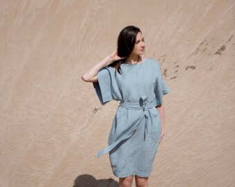 Linen Dress Motumo - 16S9