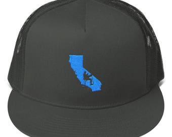 Climb California - Mesh Back Snapback