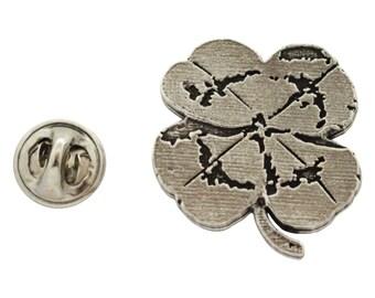 4 Leaf Clover  ~ Lapel Pin/Brooch ~ A1034