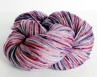 Oh! Say Can you See? on Frolic, SW merino wool/nylon (75/25), 463 yds, 100g, Hand dyed yarn, Handdyed Yarn,  Fingering Weight, Sock Yarn