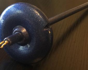 Dk. Blue Drop Spindle