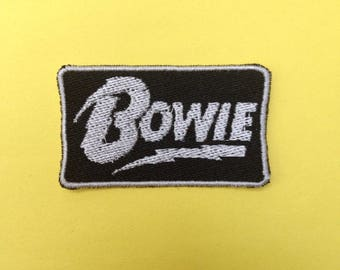 David Bowie Iron-on Patch
