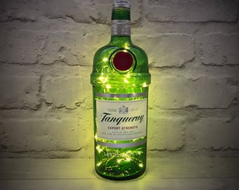 Tanqueray Gin Bottle Light  LEDs (Battery Powered)