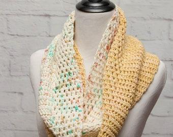 Crochet Cowl Pattern - Sundae Cowl