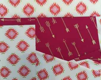 State of Oklahoma Paper Pieced Block