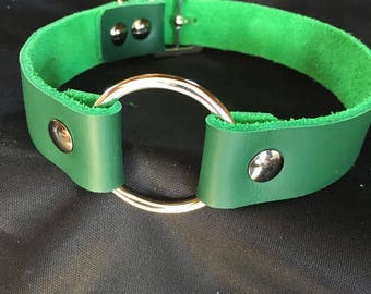 Green O ring daily wear collar