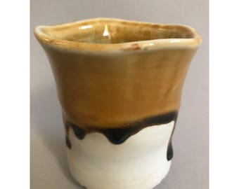 Drippy wood fired cup
