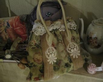 winter rose handbag