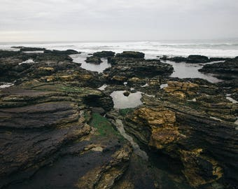 Tide Pools Along the Coast